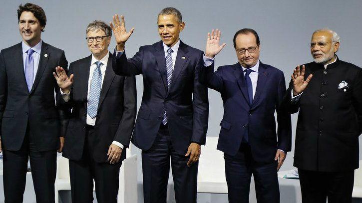 bill gates paris climate summit 2015