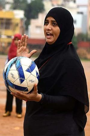BurqaClad Football Coach Helps Chennai Girls Shoot For National Goals