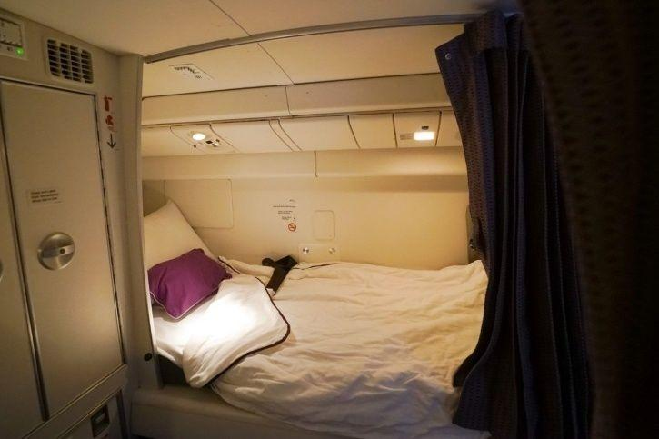 Ever Wondered Where The Pilots And Crew Members Sleep On Long Haul