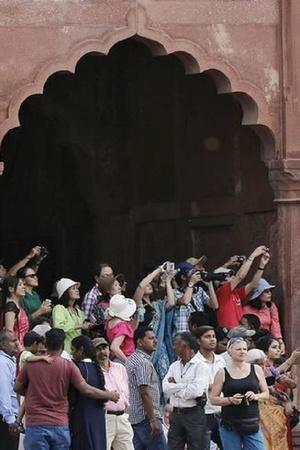 indians as tourists