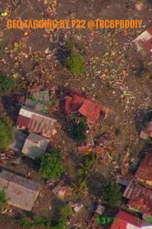 Indonesia earthquake card