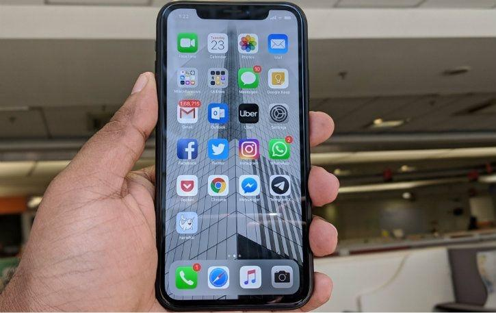 iPhone XR front bezel and FaceID