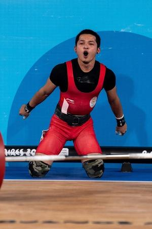 jeremy lalrinnung win gold in youth olympics