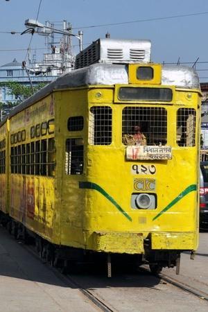Kolkata tramcar restaurant Bengali cuisine Durga Puja Victoria West bengal