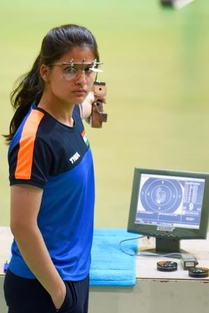 Manu Bhaker won gold at Youth Olympics
