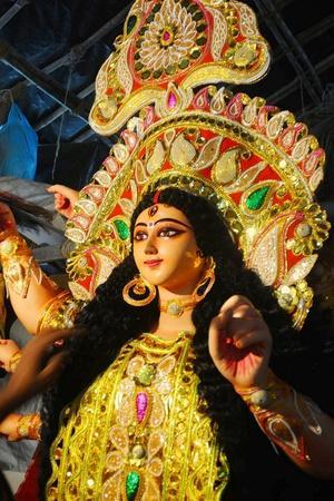 Muslim Artist Breathes Life Into Durga Idols In Assam
