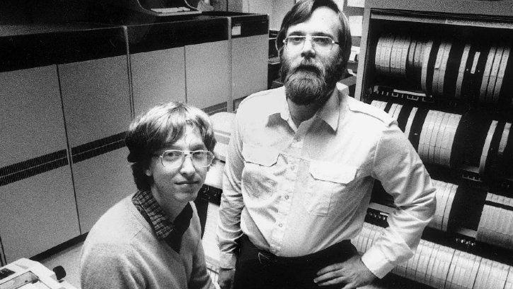 Paul Allen Bill Gates Microsoft