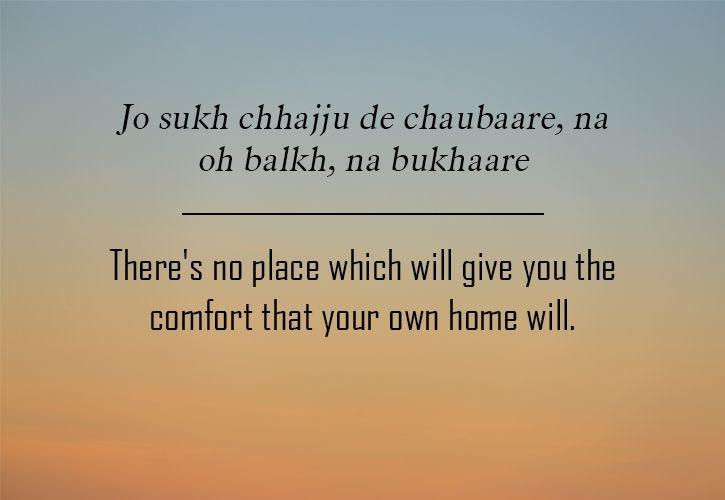 These 11 Punjabi Sayings Are The Perfect Reflection Of Various