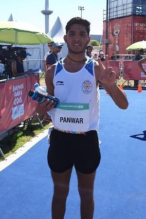 Suraj Panwar Clinches Silver In Men 5000m Race Walk