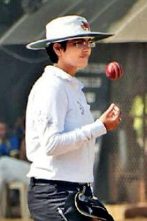 Vrinda Rathi nationallevel umpire