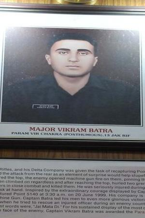 Captain Vikram Batra was a hero