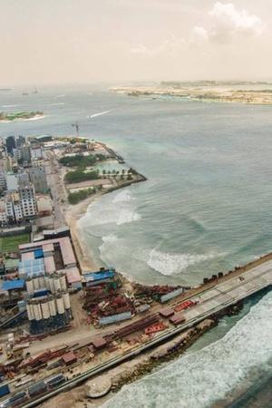 ChinaFunded Bridge In Maldives