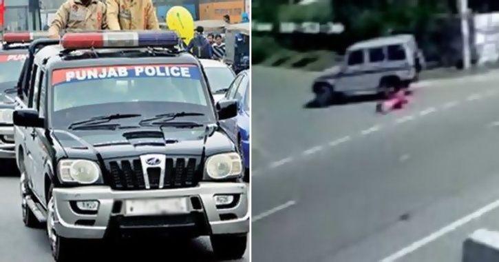 'Drunk' Punjab Cops Throw Woman