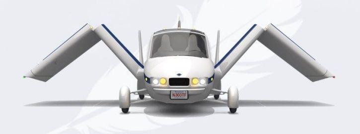 Flying Car, Transition, Terrafugia