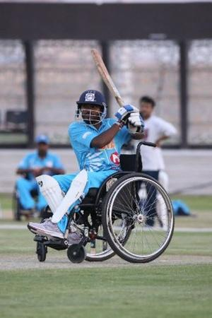 Indias Wheelchair Cricket Team