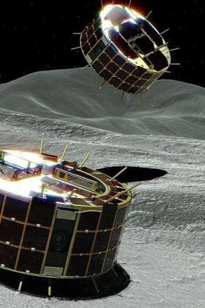 japan hayabusa2 rover landing on asteroid