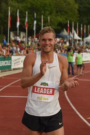 kevin mayer set a new world record