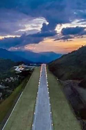 Located At 4500 Ft In Himalayas Picturesque Pakyong Airport In Sikkim Opens