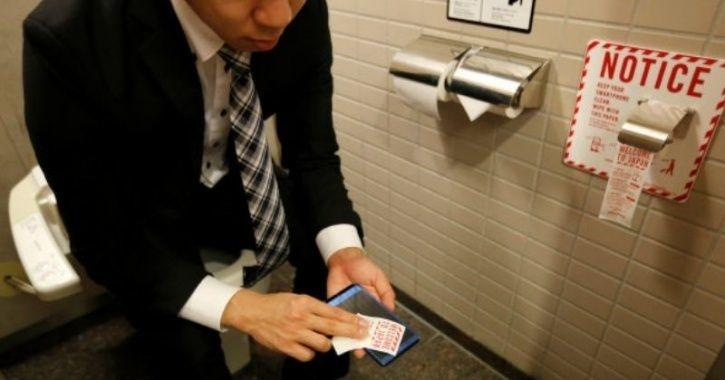 Bizarre Study Claims Men Spend 7 Hours A Year Hiding In Bathrooms To on