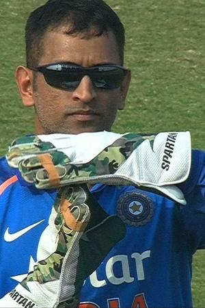 MS Dhoni is good with DRS