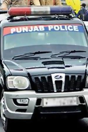 Punjab cop throw woma