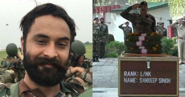 Surgical Strike Hero Lance Naik Sandeep Singh Martyred Fighting Terrorists In Jammu & Kashmir