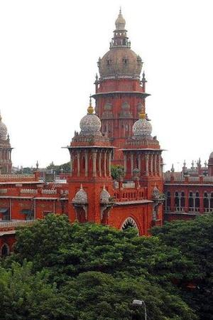 Toilets in Madras High Court