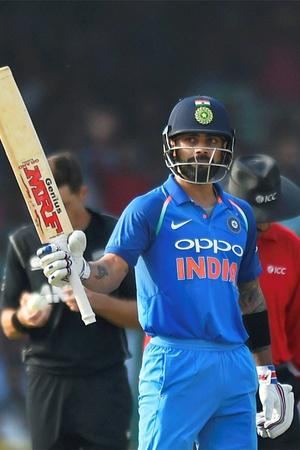 Virat Kohli has scored 9779 ODI runs