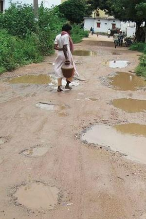 Woman Sells A Part Of Her Own House To Rebuild Road In Village In Uttar Pradesh