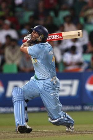 Yuvraj Singh slammed 70 in 30 balls