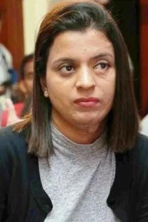 A picture of Kangana Ranauts sister Rangoli Chandel