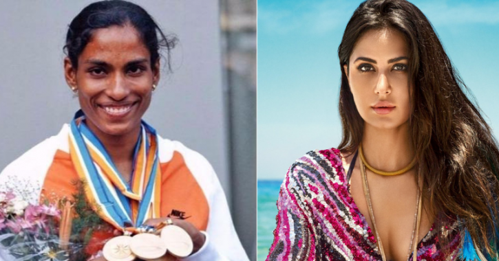 A picture of Katrina Kaif who will most likely play PT Usha in the biopic.