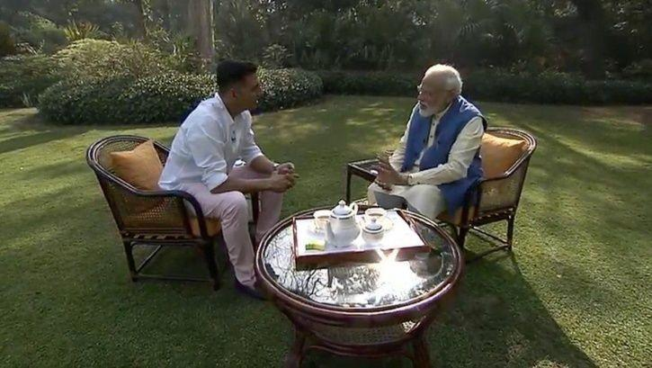 Akshay Kumar and Modi