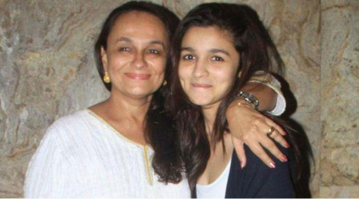 Alia Bhatt with mother Soni Razdan.