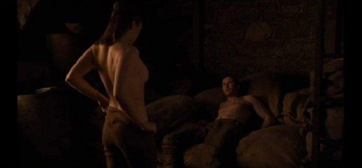 Arya Stark Gendry sex scene in game of thrones.