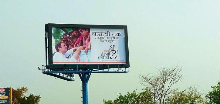 Battle Of Billboards: Congress, BJP, And AAP Fight It Out In Delhi