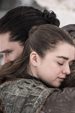 George RR Martin originally wanted to show Jon Snow romancing Arya Stark