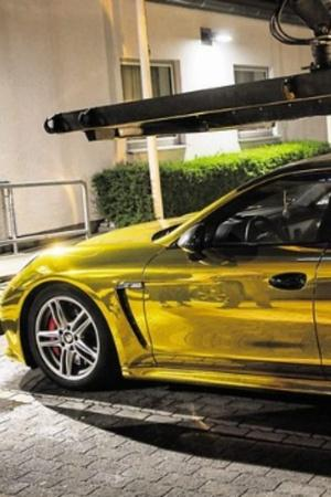 Gold Porsche Germany