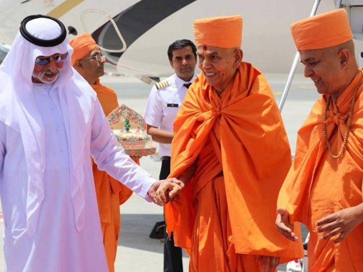 Hindu Temple In Abu Dhabi