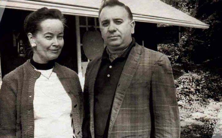 Lorraine Warren and husband Ed.