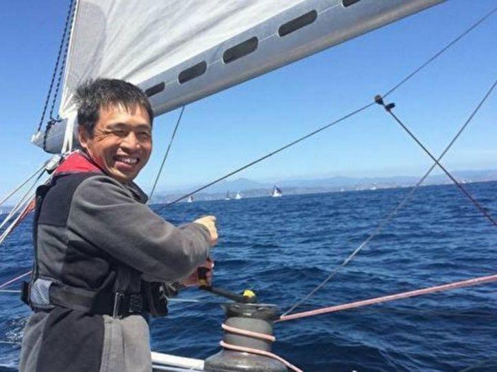 Mitsuhiro IwamotoBlind Japanese Mans 2 Month Long Non Stop Voyage