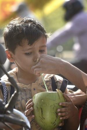 Orange alert Gujaratsummers children weather conditions health department