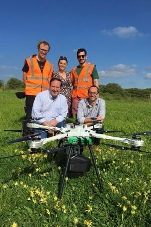 planter drone