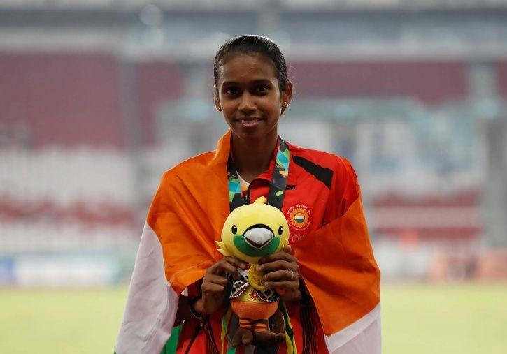 PU Chitra won gold