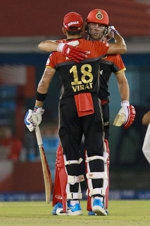 RCB finally won a game in IPL 2019