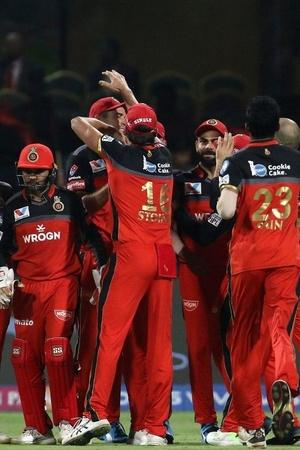 RCB won by 17 runs