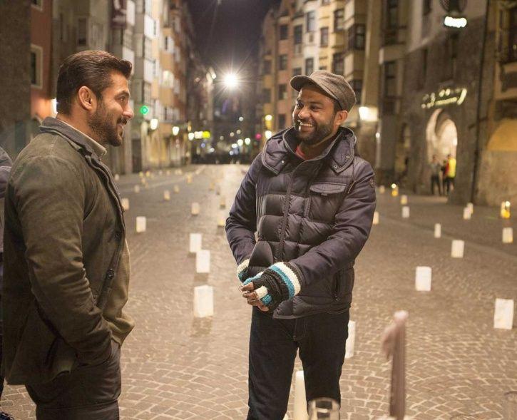Salman Khan with Bharat director Ali Abbas Zafar.