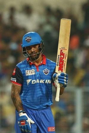 Shikhar Dhawan made 97
