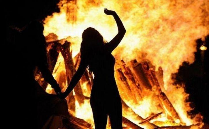 UP Woman Set On Fire