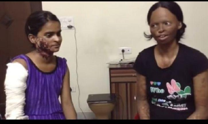 women who survived acid attack